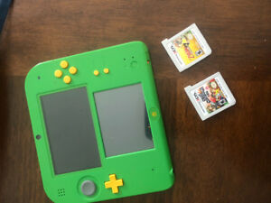 Nintendo 2DS Ocarina of Time Edition w 3 games