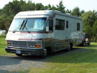 Motor home and Honda CRV