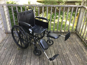 NEW DriveMedical SilverSport Wheelchair w/ accessories $500 OBO