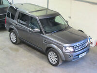 Land Rover Discovery 4 Commercial 3.0SDV6 XS 8spd 255PS GREY 2015 ** NOW S0LD **