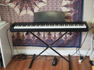 Yamaha electronic stage piano  (+ stand + pedal + amp + more!)