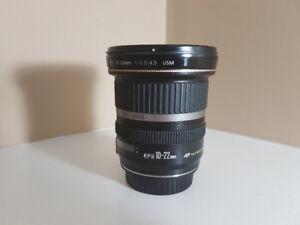 Canon EF-S 10-22mm f/3.5-4.5 USM Lens for sale!