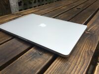 Macbook Pro Retina 15 inch i7 processor, 16G RAM, SSD, dedicated Graphics Card