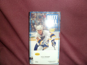 Vhs Brett Hull Hockeys Top Gun