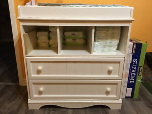 White Changing Table