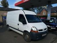 RENAULT MASTER MM33 DCI MWB SHR White Manual Diesel, 2004