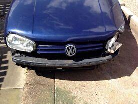 VW Golf 1.9 TDI Breaking/Spares