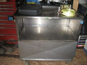 Stainless Steel Tool Cart......OBO