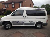 Mazda bongo pop up roof 4 berth
