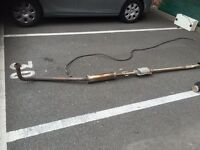 Corsa b centre exhaust pipe