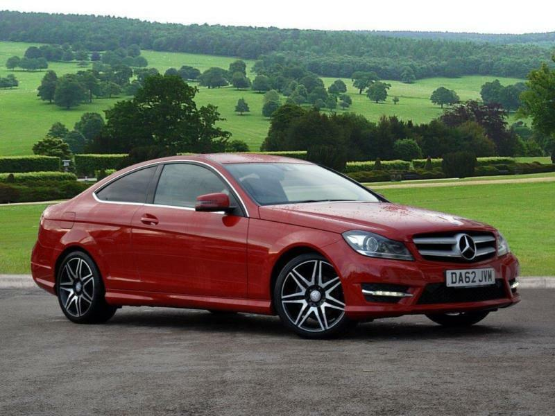 2012 mercedes benz c class 2 1 c220 cdi blueefficiency amg sport plus 7g tronic in newcastle - Mercedes c220 amg sport coupe ...