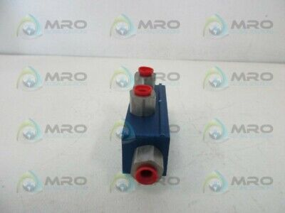 Oil-rite Purgex 3-way Hydraulic Valve New No Box