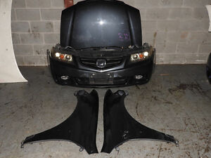 02 05 ACURA TSX CM2 ACCORD CL9 EURO R K24A NOSE CUT JDM TSX FRON