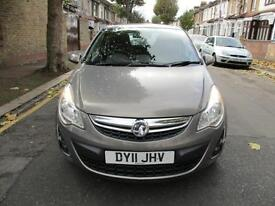 2011 VAUXHALL CORSA 1.2 Excite 3dr