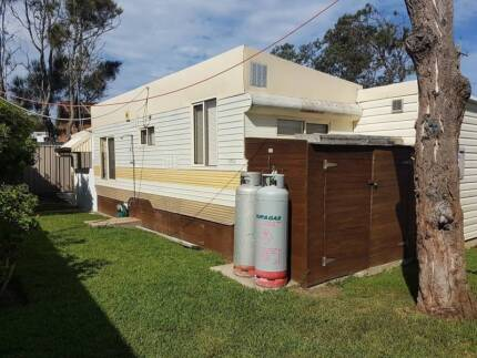 on-site van with annex and ensuite Berrara Beach Chalets NSW Penrith Penrith Area Preview