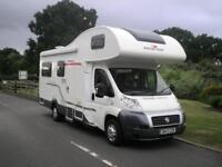 ROLLERTEAM AUTO-ROLLER 746, Six berth motorhome with rear lounge