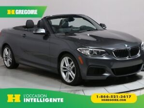 2016 BMW 228i 228i XDRIVE CONVERTIBLE CUIR MAGS BLUETOOTH CAMERA