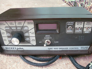 Dickey-john SC1000 sprayer  rate controller