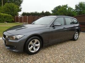 LUXURY ESTATE 2013 63 BMW 3 SERIES 320 163ps Diesel AUTOMATIC * FULL BMW HISTORY