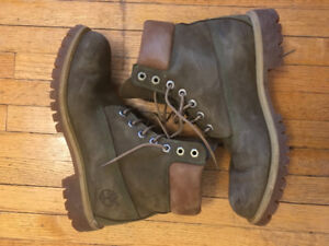 Timberland Boots for men Military Green size 9