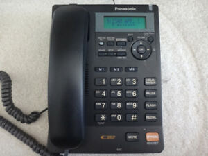 Panasonic KX-TS620CB CID Answering Machine Corded Phone