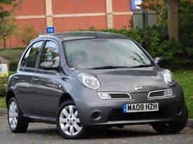Nissan Micra 1.2 16v 5 DOOR 2008 Acenta+ YES GENUINE 33,000 MILES!! + WARRANTY