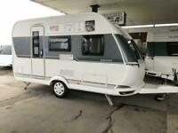 2020 HOBBY On tour 390 sf 4 berth Fixed bed new 2020