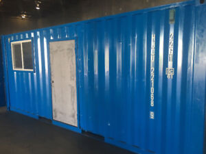 Mobile Shipping Container Office for sale or rent !