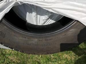 P275 55 R20  Pneus d'ete / Summer tires, Silverado / Sierra
