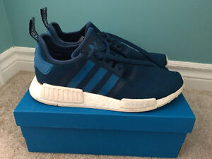 adidas NMD R1 Blue and White