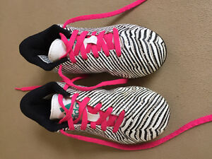 Girls size 12 adidas soccer cleats