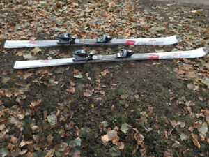 Fischer Alpine Skis 170cm with Bindings and Ski Brakes