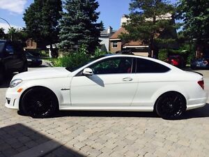2012 Mercedes C63 AMG performance package