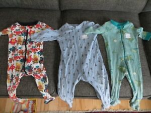 6-12 Month boys sleepers, $5 for the lot