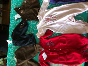 Baby girl size 3-6 months clothing lot