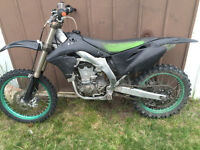 08 KX 450, $2500 firm and good to go