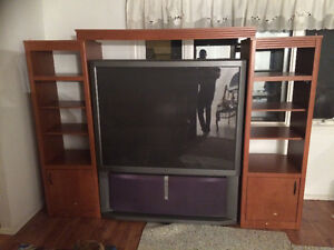 """60"""" TV & TV Stand combo"""