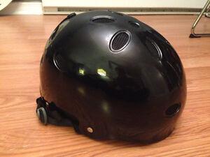 Nearly new black Pro-Tec snowboard helmet