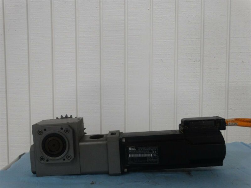 Rexroth Indramat MKD041B-144-KP0-KN, 7.5A W/ Unbranded Gear Reducer 5:1