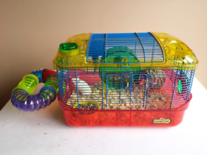 Male mouse and critter trail cage