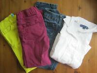 Lot de 4 vêtements fille 5-6 ans