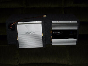 Kenwood car stereo system (complete) London Ontario image 8