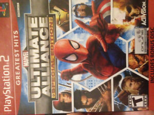 Ps2 ultimate alliance special edition.