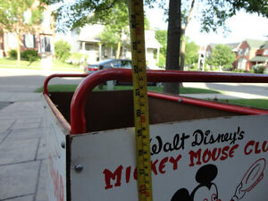 Vintage 1950's Mickey Mouse Club Push' Em Car In excellent Shape Kitchener / Waterloo Kitchener Area image 7