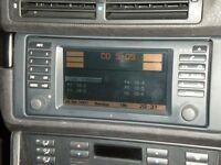 BMW 5,7,x5 16:9 sat nav screen