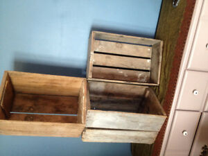 Very Old apple boxes