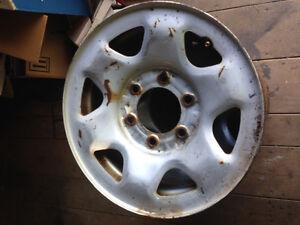 4-15x8 6 bolt toyotay/Nissan/chev