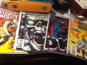 VARIOUS COMICS BLACKEST NIGHT XMAN HAWKWIND