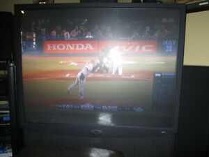 "Projector 56"" Television"