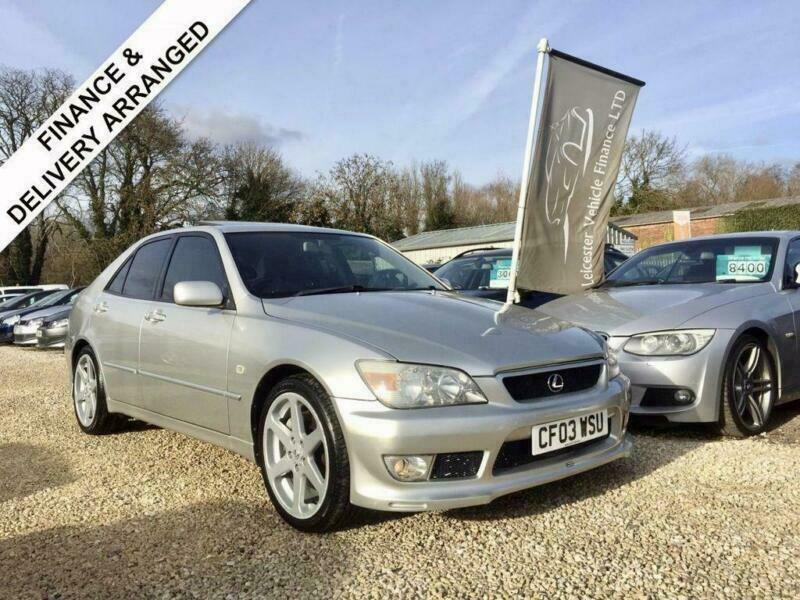 2003 03 lexus is 200 2.0 v6 auto 153 bhp**altezza kit** | in